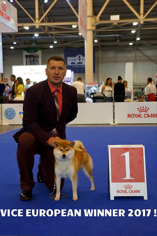 EURO DOG SHOW'17 - РЕЗУЛЬТАТЫ KIREY KAZOKU